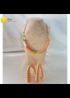 A képen látható nyaklánc nincs benne az árban, azt a tekert nyakláncok  menüpontban lehet megvásárolni