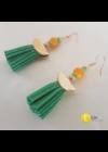 """""""Japanise garden"""" egyedi, kézműves nyaklánc, fülbevaló, karkötő ékszer szett"""