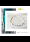 Ezüst színű,  egyedi, kézműves, designer, környaklánc