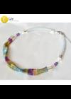 Színes, egyedi, kézműves nyaklánc - Liv Ékszerek