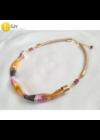Színes, kézműves nyaklánc-Liv Ékszerek