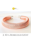 Nofertiti karkötők, többféle színben, mintával, 3D-ben - Liv Ékszerek, ékszer