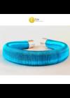 Kék, designer karkötő